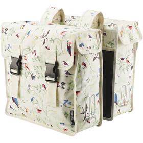 Basil Wanderlust Double Pannier Bag 35l ivory